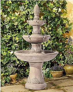John Timberland Domanico Outdoor Floor Water Fountain 57