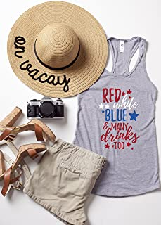 4th of July Made In America Tank Top, Fourth Of July Tank, Patriotic Tops, America Flag Tank Top, Red White and Blue Tanks, Merica Tank top, Made In America Tee, Independence Day Tank top