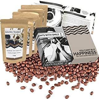 Types of coffee from all over the world in a tasting set or as a gift set for coffee lovers I Coffee trip around the world...