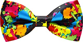 Mens Handmade Stylish Patterned Pre-Tied Bow Ties M126