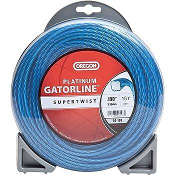 Oregon 21-555 Gatorline Round String Trimmer Line 0.155-Inch Diameter 5-Pound Spool