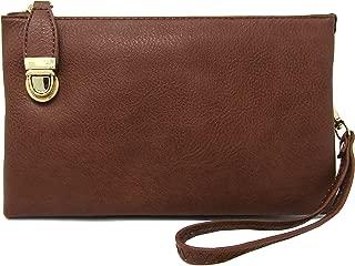Womens Multi Compartment Functional Crossbody Bag Shoulder Bag