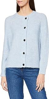 SELECTED FEMME Slflulu LS Knit Short Cardigan B Noos Maglione Donna