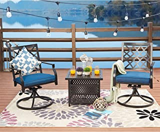 Best outdoor table and swivel chairs Reviews