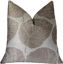 "Plutus Brands Plutus Pleasant Leaves Luxury Throw Pillow, 20"" x 26"" Standard"
