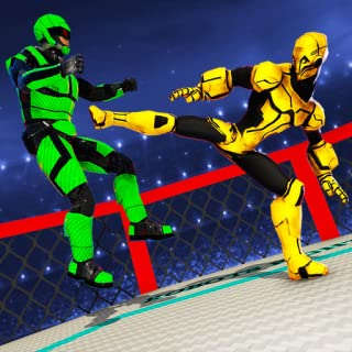 Robot Fight Ring Battle