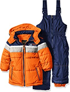 Boys' Insulated Two-Piece Snowsuits