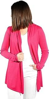 Women's Cardigan Sweater, 100% Cashmere, Open Front Long Cardigan, Swing Style, Ultra Lightweight