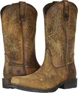 Ariat Fat Baby Distressed Brown Shipped Free At Zappos
