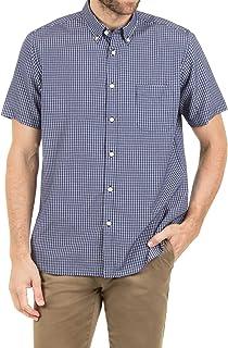 Blazer Men's Nathan Short Sleeve Check Shirt