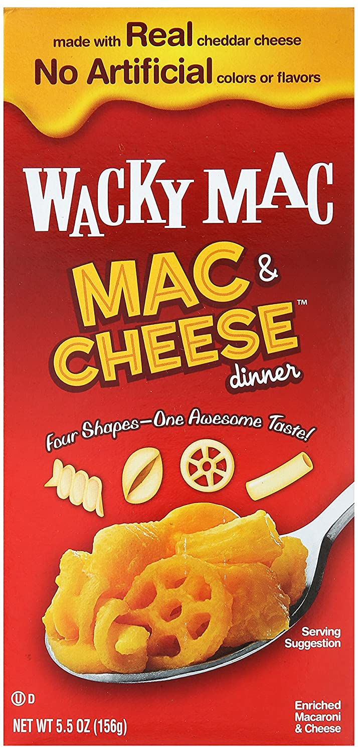 Free shipping New Wacky Mac Cheese 5.5 Dinner oz Mail order cheap