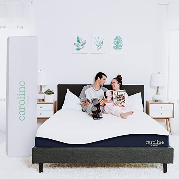 Modway Caroline 10 Cooling Air Gel Memory Foam Full Mattress With CertiPUR US Certified Foam 10 Year Warranty