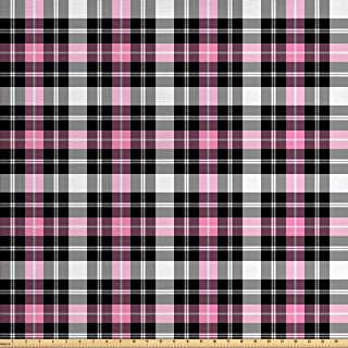 Best pink plaid fabric Reviews