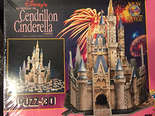 Wrebbit PUZZ 3D Disney's Cinderella Castle 530 Pieces