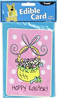Crunchkins Edible Crunch Card For Dogs, Hoppy Easter