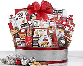 Van's Gifts Holiday The Celebrator Gourmet Gift Basket