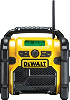 DEWALT DCR019-QW DCR019-QW-Radio Compacto XR, Black/Yellow - EU 2 pin version