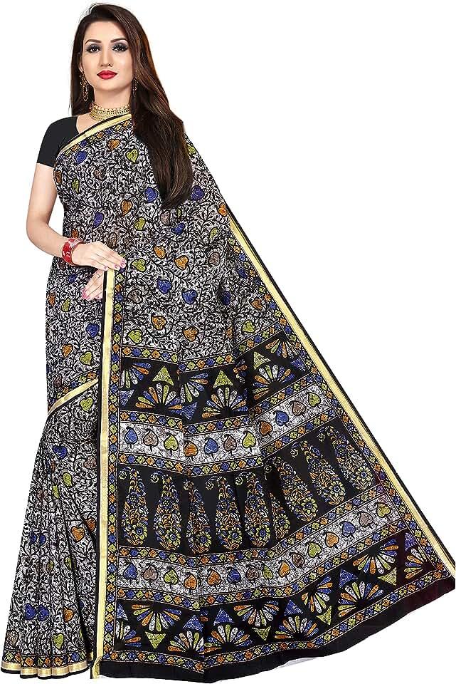 Indian TAMAIRA FASHION Women's Pure Cotton Saree Without Blouse Piece (1631_Zari Border_Parent) Saree