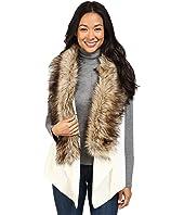 MICHAEL Michael Kors - Vest w/ Faux Fur Front Insert