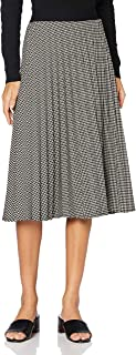 APART Fashion Houndstooth Plissee Skirt Gonna Donna