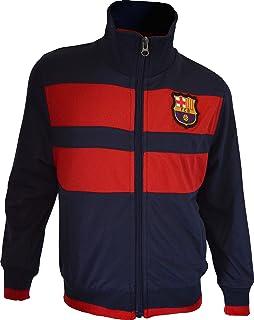 Chaqueta del Barça para hombre, con cremallera, Colección oficial FC Barcelona, Talla adulto