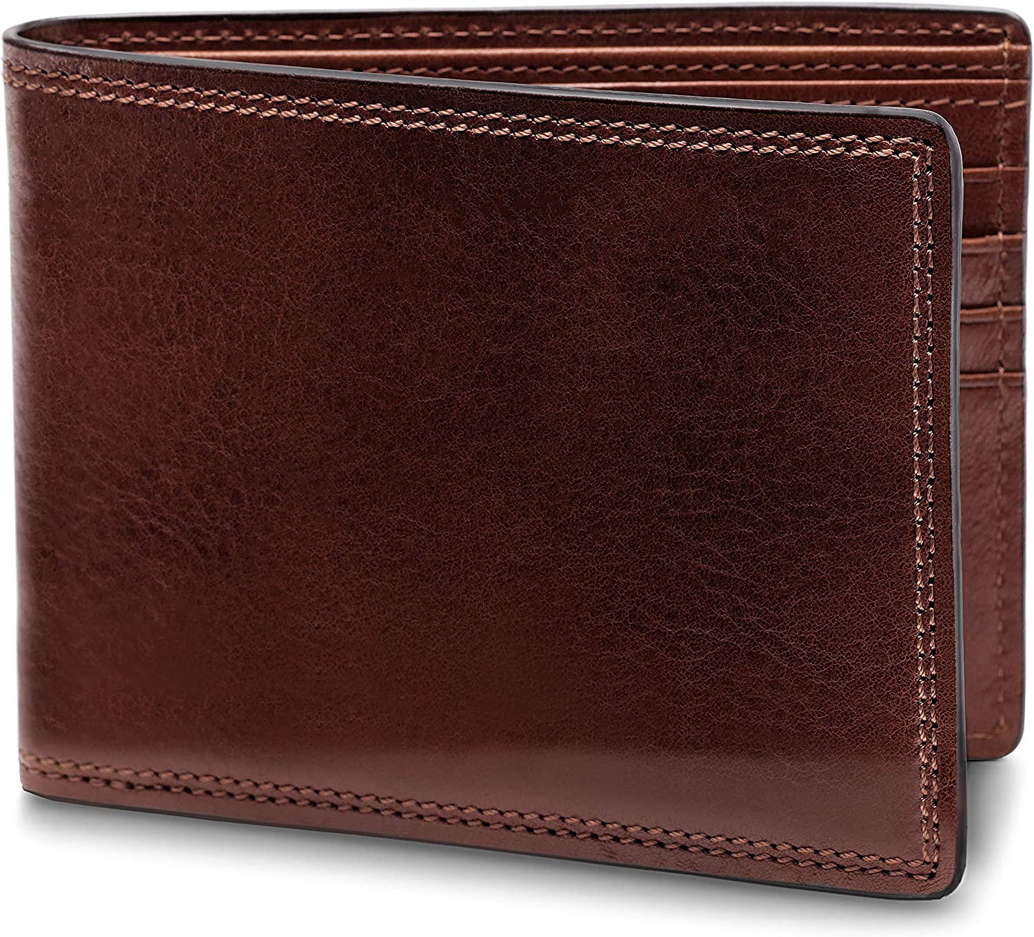 Bosca Men's 8 Pocket Leather Executive Easy-to-use Wallet Max 90% OFF Deluxe