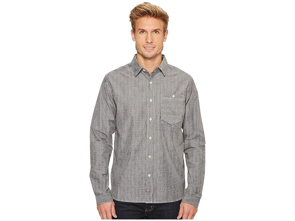 Mountain Hardwear Foreman Long Sleeve Shirt (Black) Men
