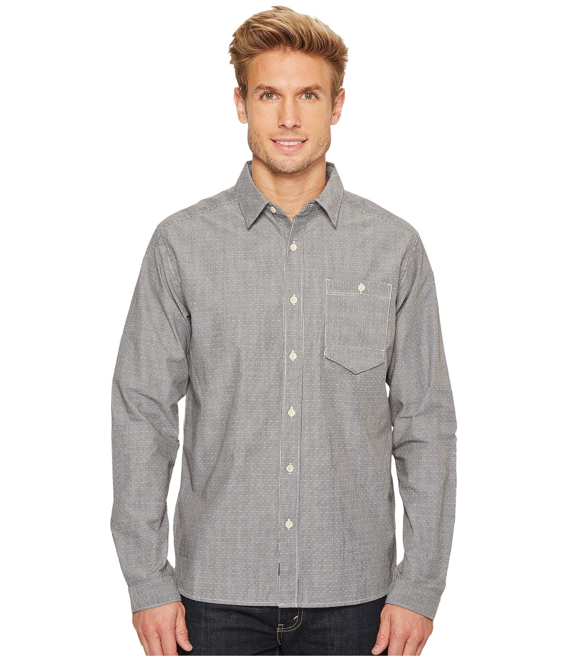 MOUNTAIN HARDWEAR Foreman Long Sleeve Shirt, Black