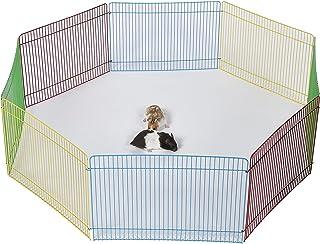 comprar comparacion Pet Ting - Parque de Juegos para hámster de Conejo, 34 x 23 cm, 8 Piezas