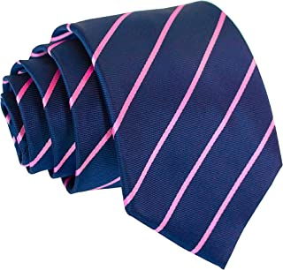 Pencil Stripe Ties for Men - Woven Necktie - Mens Ties Neck Tie by Scott Allan