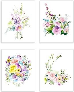 Best floral watercolor print Reviews