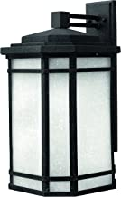Hinkley 1275VK-LED Transitional One Light Wall Mount from Cherry Creek collection in Blackfinish,