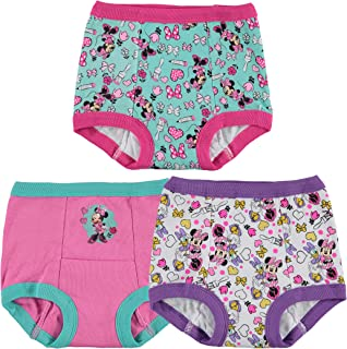 Disney Minnie Mouse Girls' 3-Pack Training Pants & Chart Set