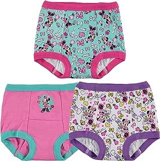 Minnie Mouse Girls' 3-Pack Training Pants & Chart Set