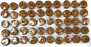 Watch and Grow Mosquito Disks Larvae Fungus Gnats Neem (Brown) -50 Pieces