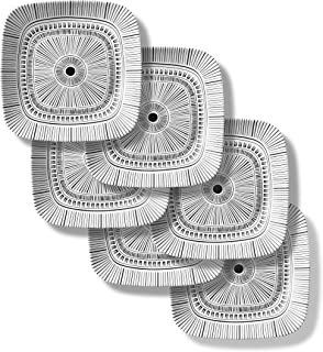 Corelle Chip Resistant Lunch Plates, 6-Piece, Imani