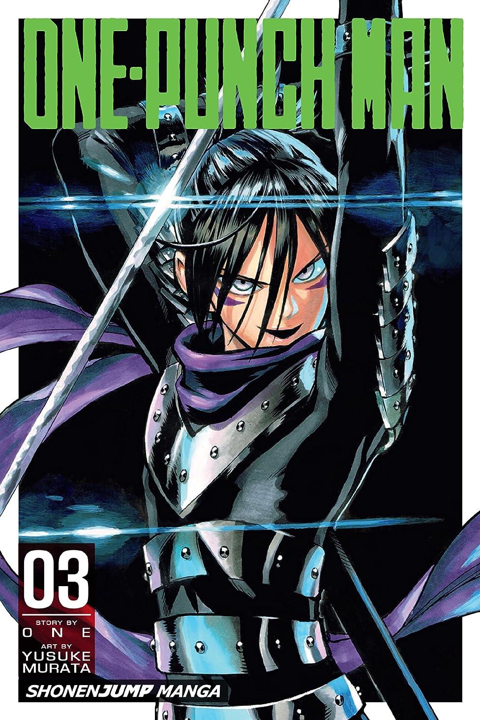 戸棚育成アルファベットOne-Punch Man, Vol. 3 (English Edition)