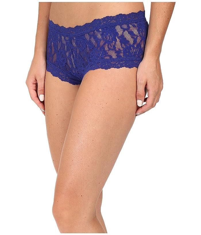 Hanky Panky Signature Lace Boyshort (Midnight Blue) Women's Underwear