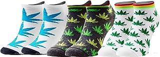 Calcetines Cortos Divertidos Hombre Mujer 1-3 Pares Algodón Funny Socks