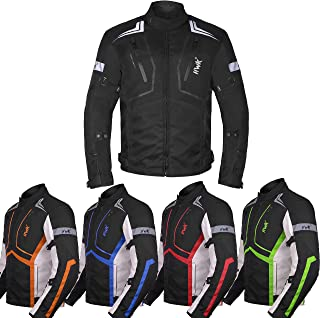 Motorcycle Jacket For Men Textile Motorbike Dualsport...