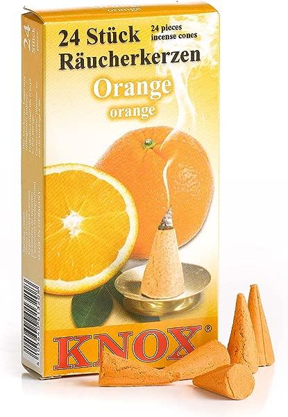 Incense Cones Orange Knox