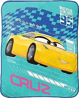 Jay Franco Cars 3 Cruz Plush Throw,