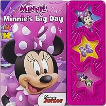 Disney - Minnie's Big Day 3-Button Star Sound Book - Play-a-Sound - PI Kids