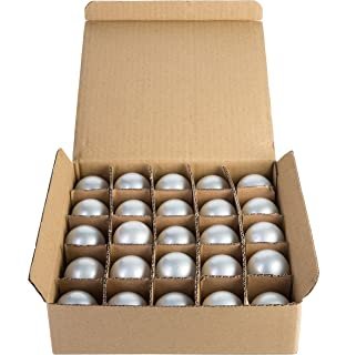Hometown Evolution, Inc. Box of 25 G50 White Pearl 2 Inch 7 Watt C7 Base Replacement Bulbs