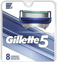 Gillette 5 Men's Razor Blade Refills, 8Count