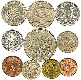 singapore 10 dollar silver coin