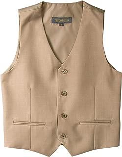 boys khaki vest