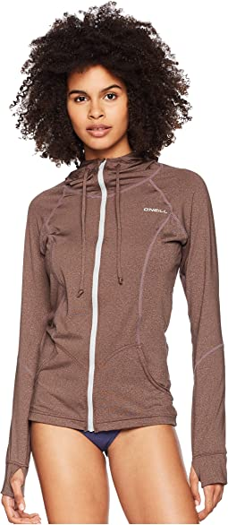 O'Neill Hybrid Long Sleeve Full Zipper Sun Hoodie