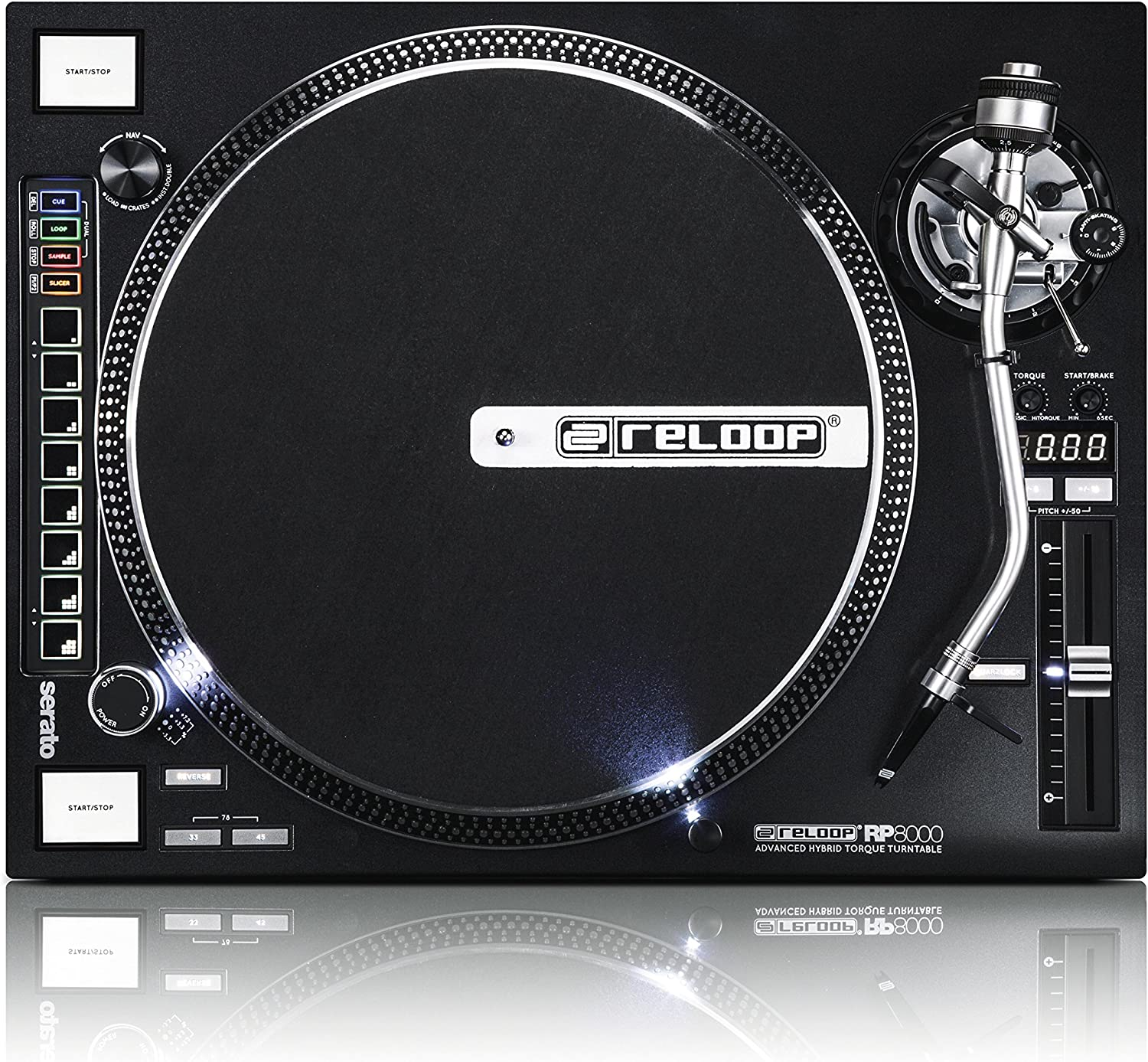 Reloop AMS-RP-8000 RP-8000 Advanced Hybrid Max 83% OFF with Turntable Torque Special price