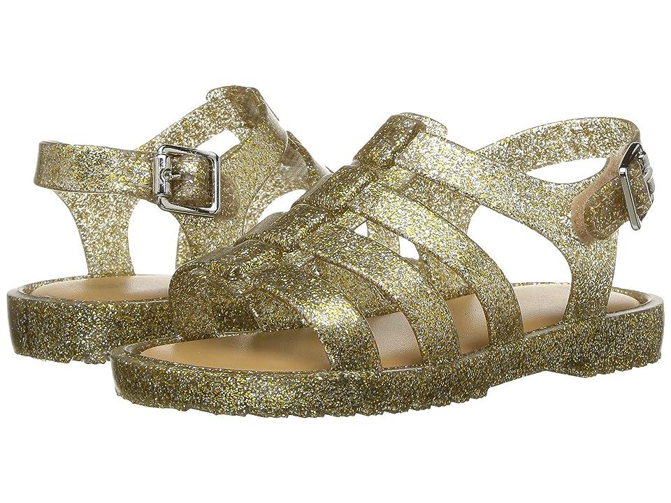 Mini Melissa Flox (Toddler) (Gold Glitter) Girls Shoes
